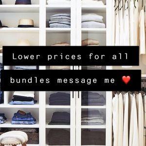 Tops - Message me for bundle deals ❣️⭐️